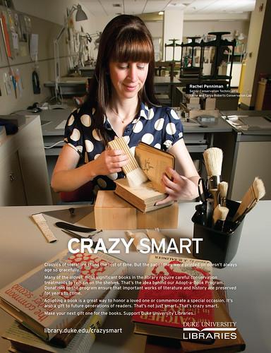 Crazy Smart Adopt a Book