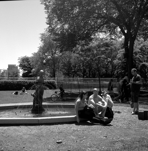 "Image titled ""Folks in the Park, Chicago."""