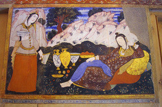 Iran 2016 Ispahan palais Chehel Sotun (9)