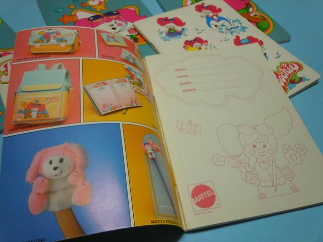 Poochie Mattel 1986-87 Notebooks