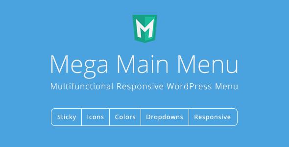 Mega Main Menu v2.1.5 - WordPress Menu Plugin