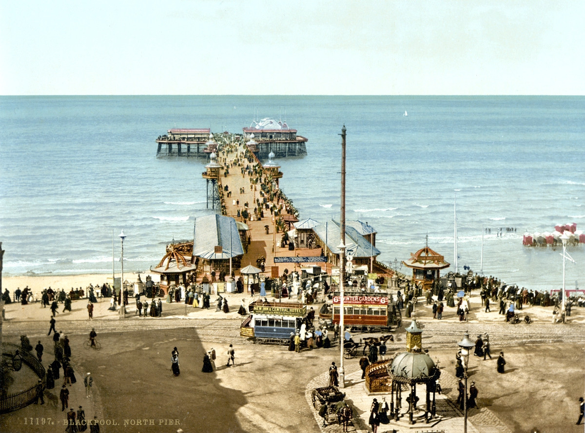 Blackpool, North Pier, c. 1895