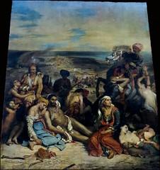 eugene delacroix's the massacre at chios