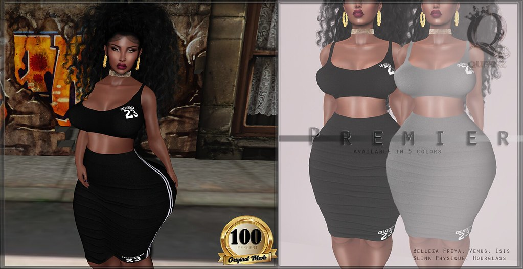 {H} Premier Dress - SecondLifeHub.com