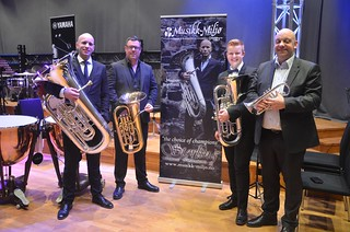Magnus Brandseth, Patrik Randefalk, Lars-Otto Torsvik och Frode Rydland