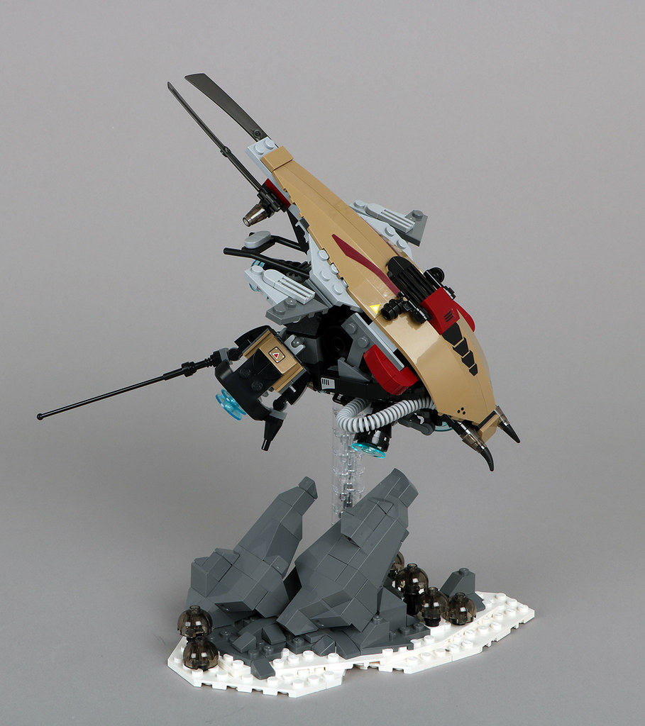 Malakos Scout Ship (custom built Lego model)