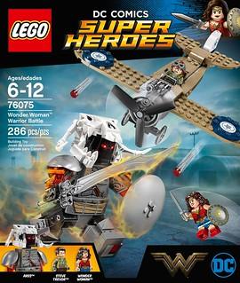 「新增官圖&販售資訊」LEGO 76056 DC Comics  超級英雄系列【神力女超人:勇者之戰】Wonder Woman Warrior Battle