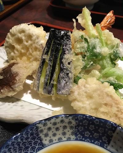 おまかせ昼御飯 小菊 天ぷら #🍤