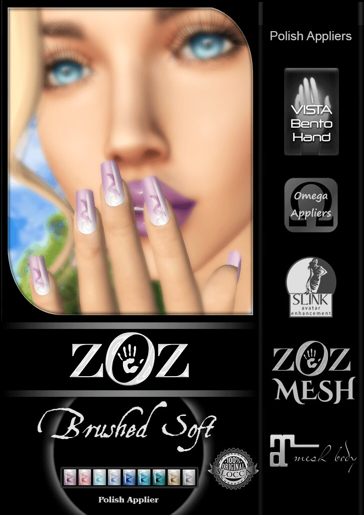 {ZOZ} Brushed Soft pix L - SecondLifeHub.com