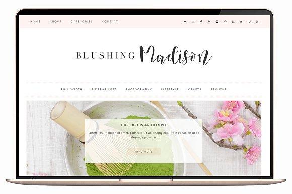 Blushing v3.1 – WordPress Theme