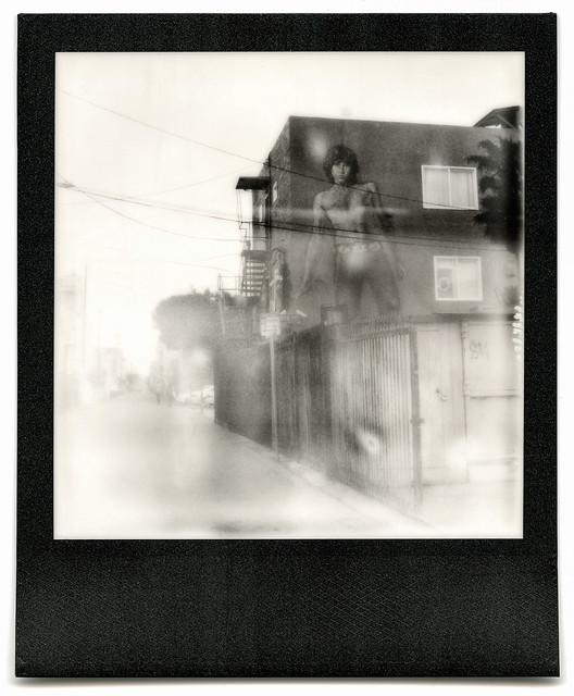 jim morrison's ghost. venice beach, ca. 2015.
