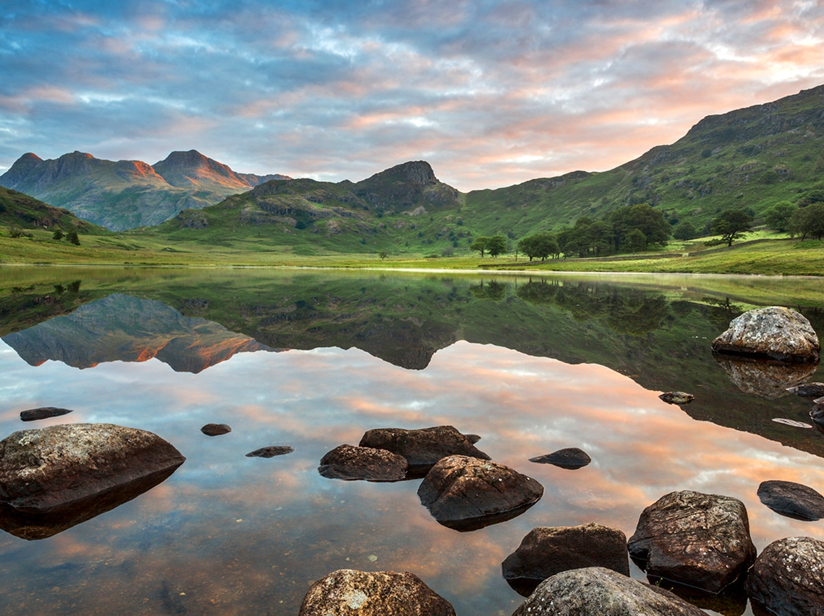 Blea Tarn, Lake District, England. Credit Jim Monk, flickr