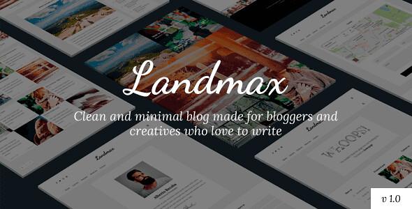 Landmax WordPress Theme free download