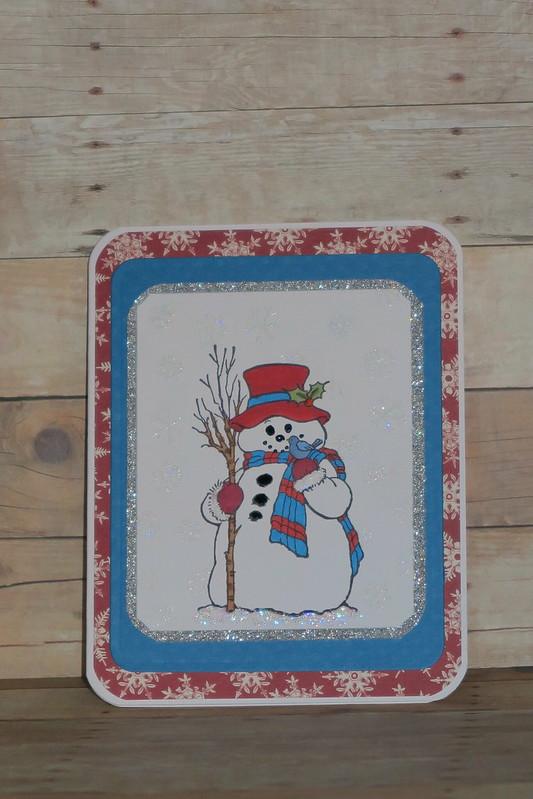 Merry Monday Snowman