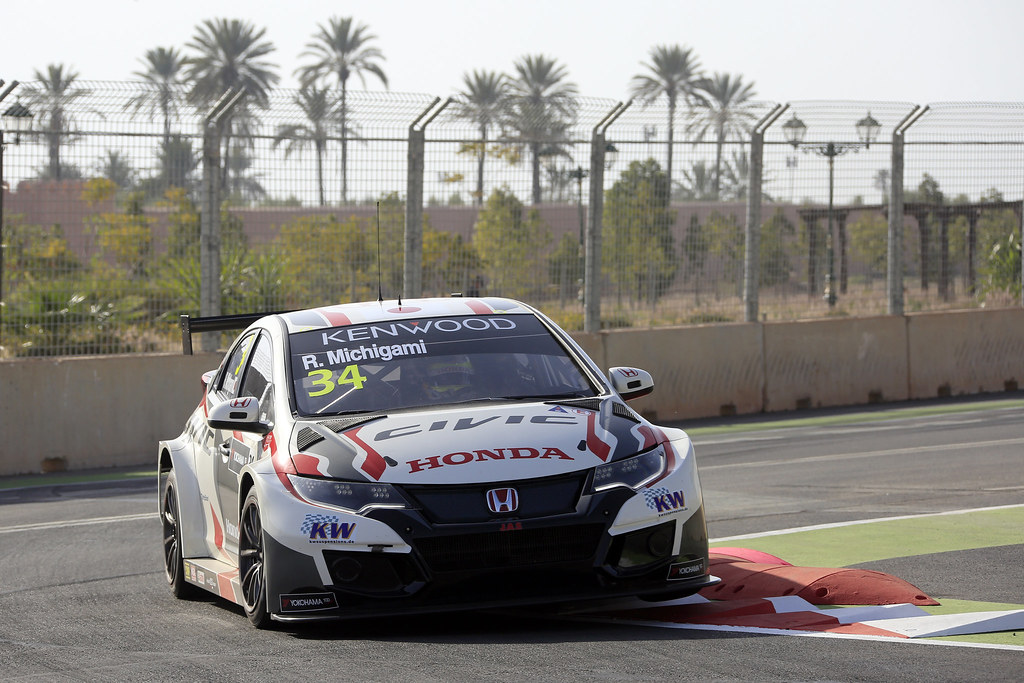 34 MICHIGAMI Ryo (jpn) Honda Civic team Honda racing team Jas action during the 2017 FIA WTCC World Touring Car Race of Morocco at Marrakech, from April 7 to 9 - Photo Paulo Maria / DPPI