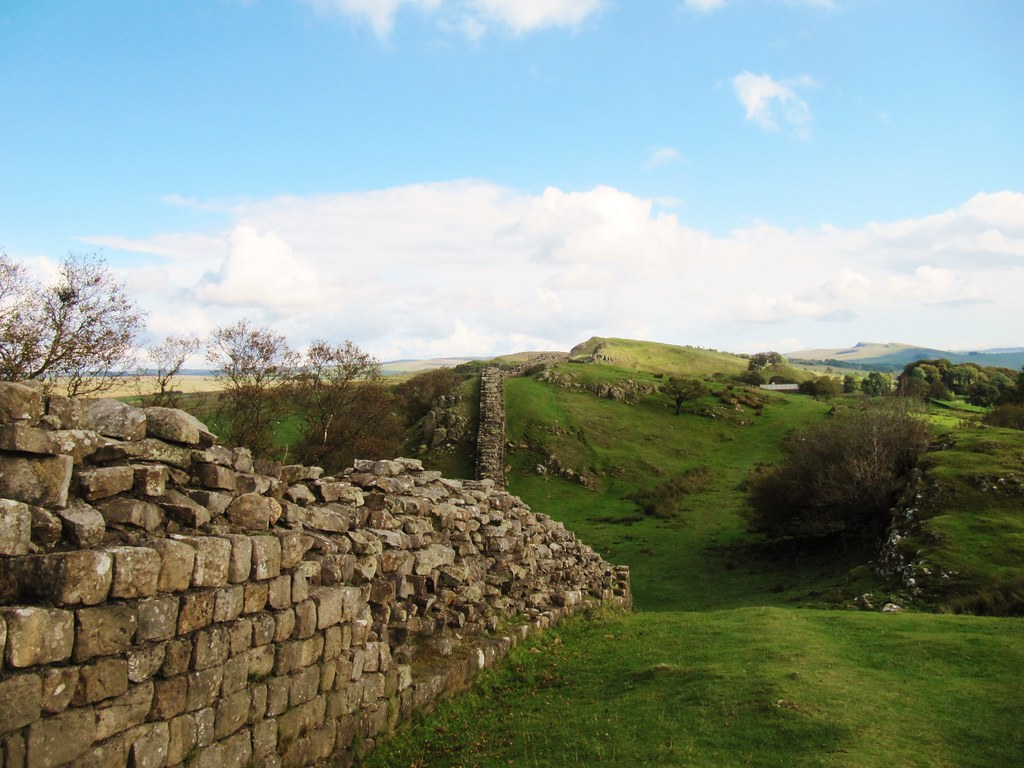 Hadrian's Wall in Northumberland National Park - My UK Road Trip challenge