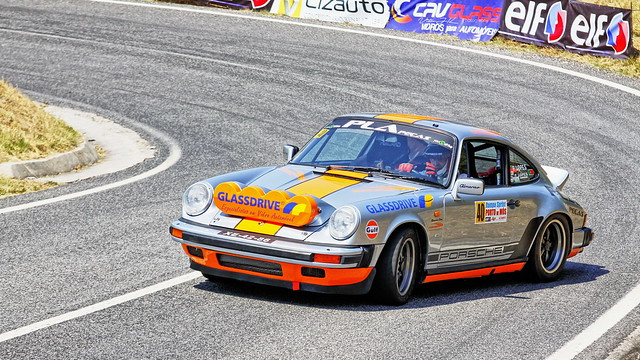 Pedro Antunes  w/  Porsche 911  Classico  -  Rampa Sprint Porto de Mós  2015