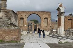 003 Arch of Caligula (Nero), Forum, Pompeii (2)
