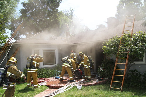Woman Gravely Injured in Northridge House Fire