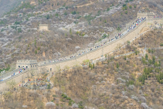 Tilt Shift Great Wall 1 2014