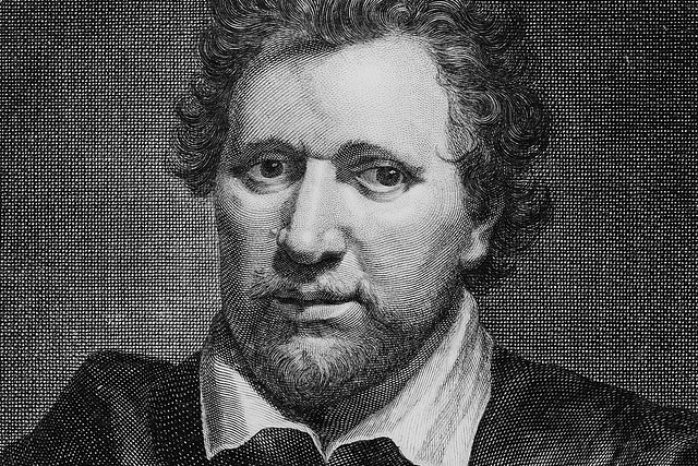 Ben Jonson by George Vertue after Gerard van Honthorst, 1730