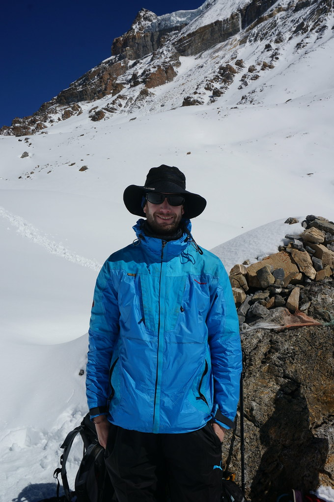 Marco Near the Thorong La Pass