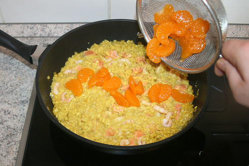 34 - Mandarinen dazu geben / Add mandarins
