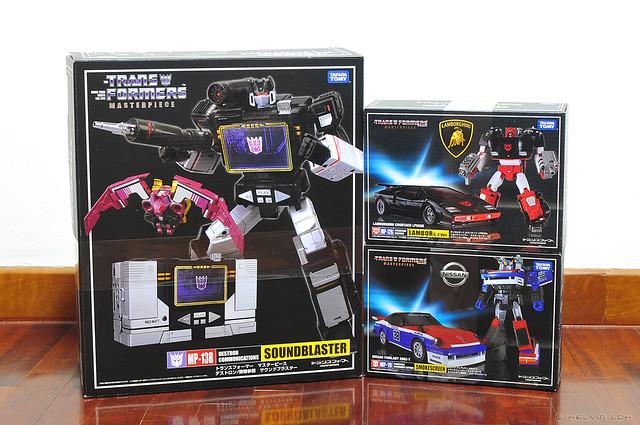 Transformers Masterpiece loot