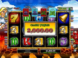Angel or Devil Free Spins Cash Prize