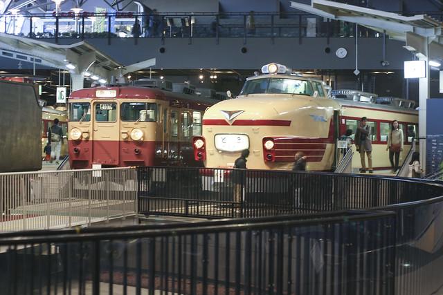 El museo del tren de Omiya