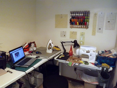 Sewing Space Redone