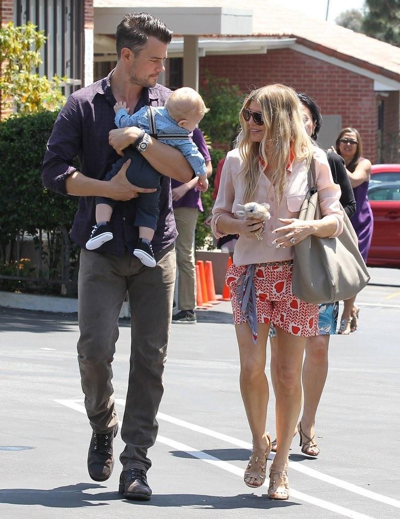 Josh duhamel and fergie baby