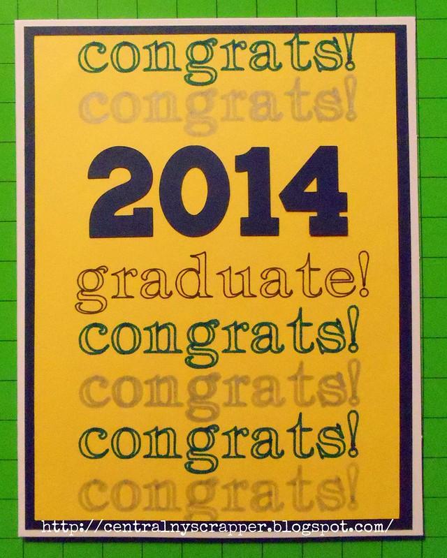 graduation card 2014