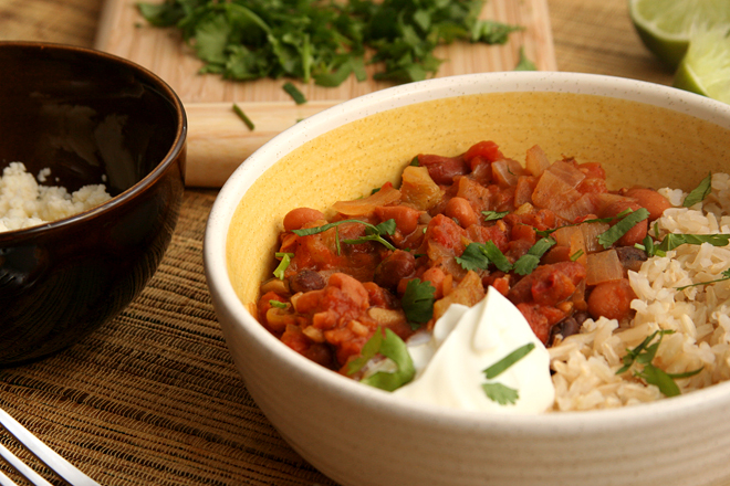 mexican rice and beans 8