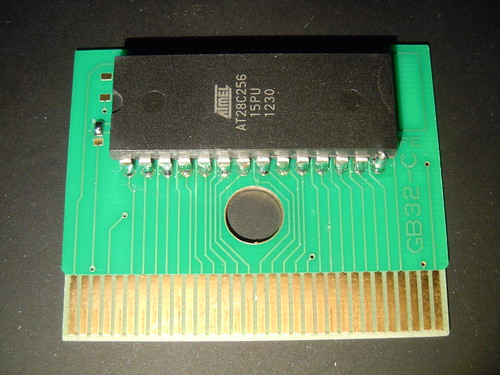 Furrtek's Airaki: front of the cartridge PCB