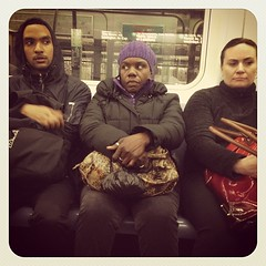 Thursday night 2 train. #nycsubwayportraits #nyc #train #subway #publictransportation #commute