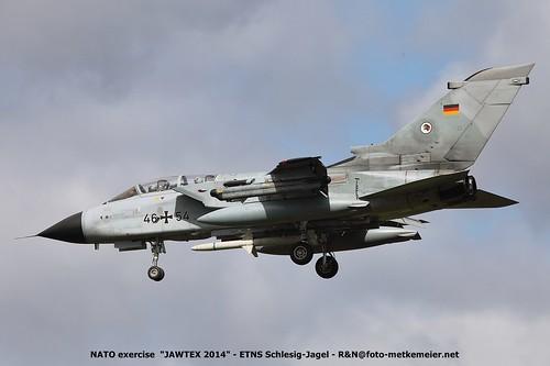 German Air Force Tornado 46+54