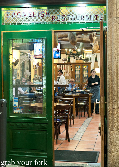 Casa Elisa Restaurant in Santiago de Compostela, Spain