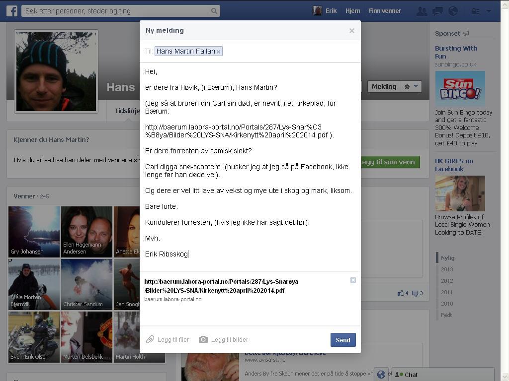 facebook hans martin