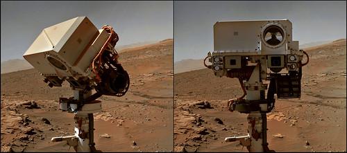 Curiosity sol 613 MAHLI selfportrait