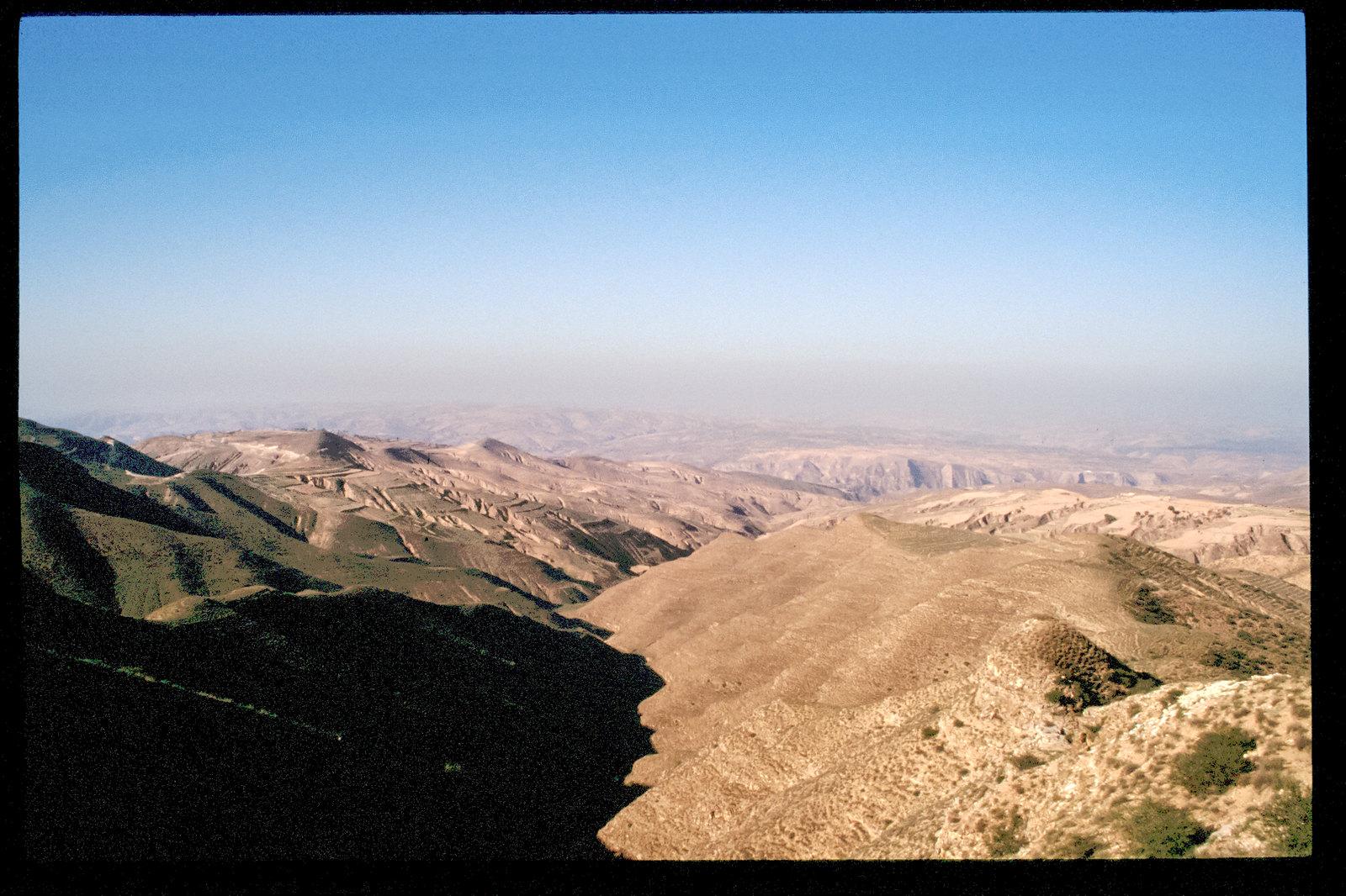 La Chine à vélo - de Pékin à Urumqi - Paysage désert de la Mongolie intérieure