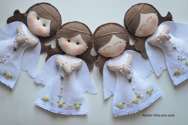 Новогодние игрушки своими руками ангелочек фото