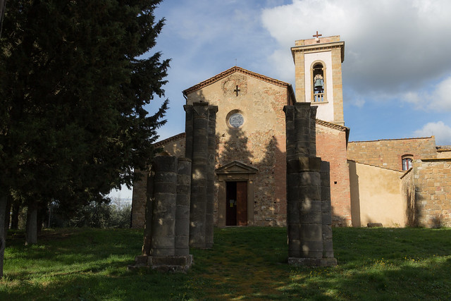 An Old Tuscan Church