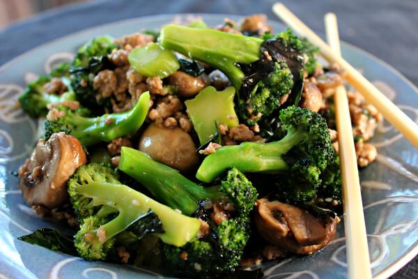 Basil Broccoli Stir Fry