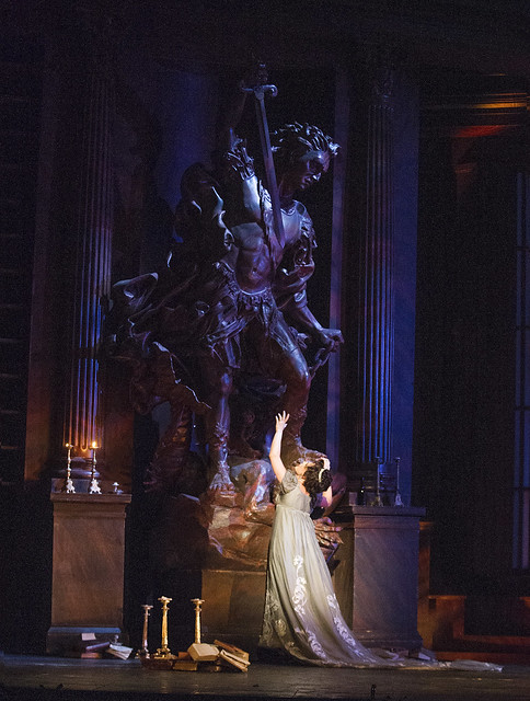 Martina Serafin in Tosca, The Royal Opera © ROH/Tristram Kenton, 2013