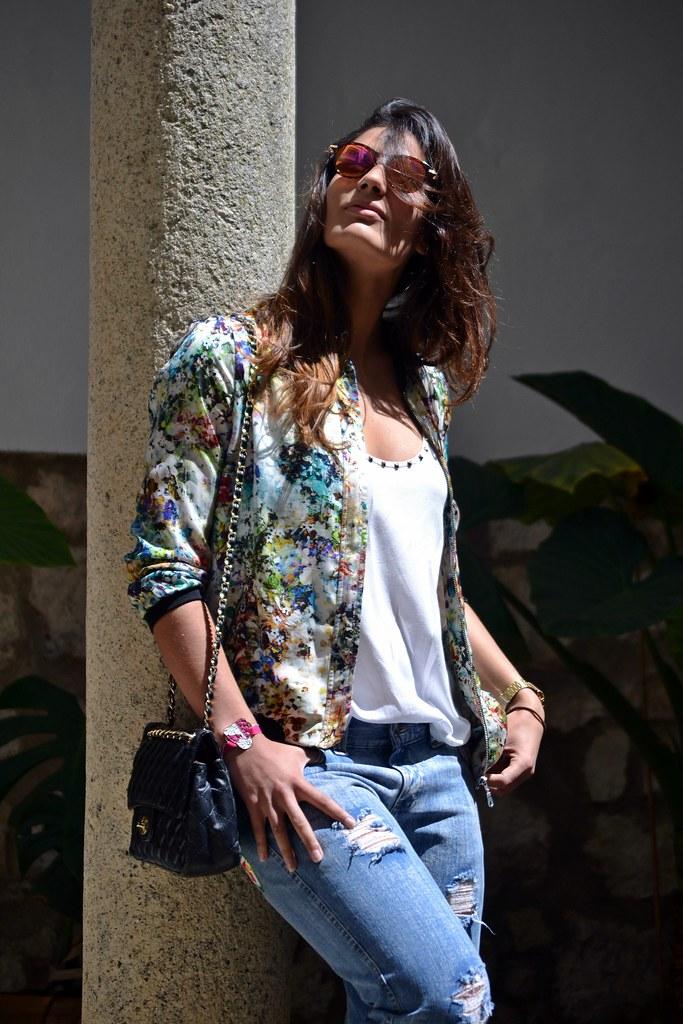 Camisa tachuelas Zara