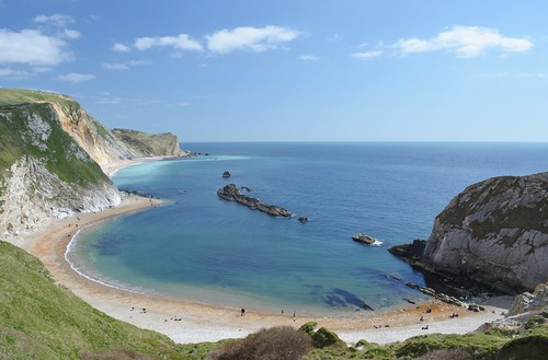The Dorset Coast from the South West Coast Path