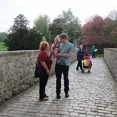 Rachel, Rob, Cassie and Zena at Leeds Castle