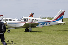 G-AVYT PIPER PA-28 R-180 CHEROKEE ARROW 28R-30472 PRIVATE -Sywell-20130601-Alan Gray-IMG_9253