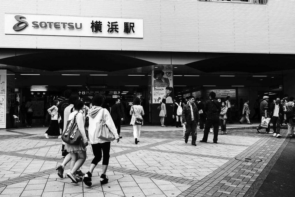横浜×モノクロ①